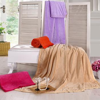 Comfortable multi-purpose blanket four seasons raschel blanket duvet cover air conditioning blanket