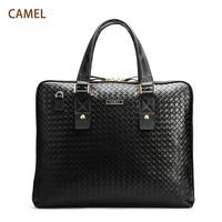 Free shiping Camel fashion male bag handbag with handle mb124050-01