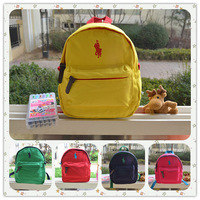 New 2014 Child backpack anti-lost male female child backpack child school bag 5 colors green yellow red navy blue rose red