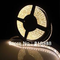 LJY LED!NEW!Waterproof Warm White LED Strip DC12V 3528 SMD 300LED 5M Flexible Lamp Light