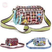 2014 Rushed Hot Sale Freeshipping Small(20-30cm) Zipper Soft Harajuku Bag Messenger Doll Women's Handbag Casual Gentlewomen Db34