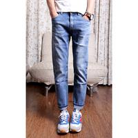 Vintage 2013 9 pants harem pants denim casual ankle length trousers