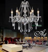 indoor lighting chandeliers crystal bedroom modern crystal chandelier glass 6lights Empire Mini Crystal Chandelier Chrome Finish
