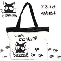 2011 bags fashion cat canvas bag eco-friendly bag bags