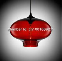Hot selling Niche Modern glass pendant  light  by julie,Solitaire Pendant lamp dia27CM*h 24cm
