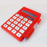 Multifunctional notebook calculator