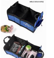 Auto supplies car trunk storage folding glove box