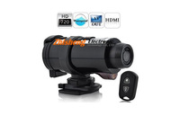 Waterproof 720P HD Sports Action Video Camera with 5MP 120 Degree Wide Angle Len 1280x720 Remote Control HDMI Free shipping