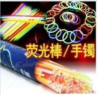 Big 20cm glow bracelets luminous stick neon stick flash stick glow stick connector 537