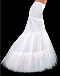 Free Shipping 1pcs/lot GK Mermaid Wedding Bridal Gown Dresses Petticoats Underskirt Crinoline Bridal Accessories Petticoat(China (Mainland))