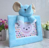 6 child cartoon plush photo frame animal swing sets photo frame baby toy gift photo frame