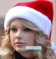 Christmas decoration adult Christmas paragraph gold velvet christmas hat ultra soft