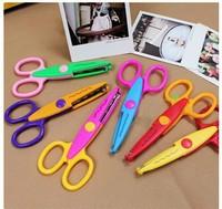 Free shipping Craft Scissors Creative scissors Decorative Wave lace Edge Craft Scissors 6pcs/lot
