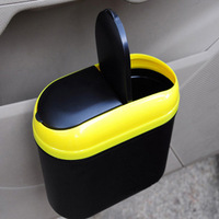 Garbage bucket car circle miscellaneously bucket glove car trash car supplies