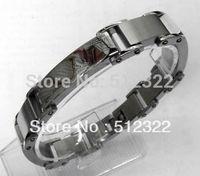 DK10023-6 FREE SHIPPING Gentlemen brancelet Fashion Hand chain stainsteel