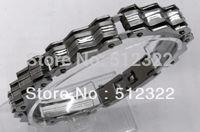 DK10023-10 FREE SHIPPING Gentlemen brancelet Fashion Hand chain stainsteel