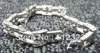 DK10023-13 FREE SHIPPING Gentlemen brancelet Fashion Hand chain stainsteel