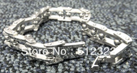 DK10023-13 FREE SHIPPING Gentlemen brancelet Fashion Hand chain stainsteel