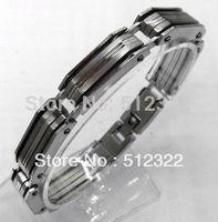 DK10023-8 FREE SHIPPING Gentlemen brancelet Fashion Hand chain stainsteel