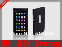 "Free Shipping 3.5"" Touch Screen Dual SIM N9 7OS MTK  Mobile Phone With Russian and Polish Menu"