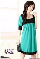 Free 2014 new  Maternity clothing summer one-piece  maternity  dresses