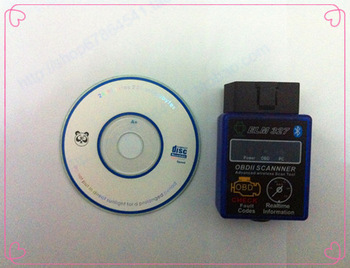 works on Android Torque ELM327 v2.1 ELM 327 Bluetooth OBDII OBD-II OBD2 Protocols Auto Diagnostic Tool