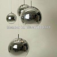 Hot selling 40CM Silver Tom Dixon Mirror Ball pendant light *3pieces