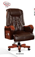 Imported cow leather manager chair offic leather chair MF-A12