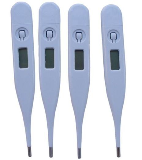 12pcs/lot lcd home et le bébé électronique numérique thermomètre bébé thermomètre numérique pour bébés hôpital à domicile livraison gratuite