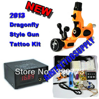 Rotary Tattoo Kit with 1pcs Tattoo Machine free shipping