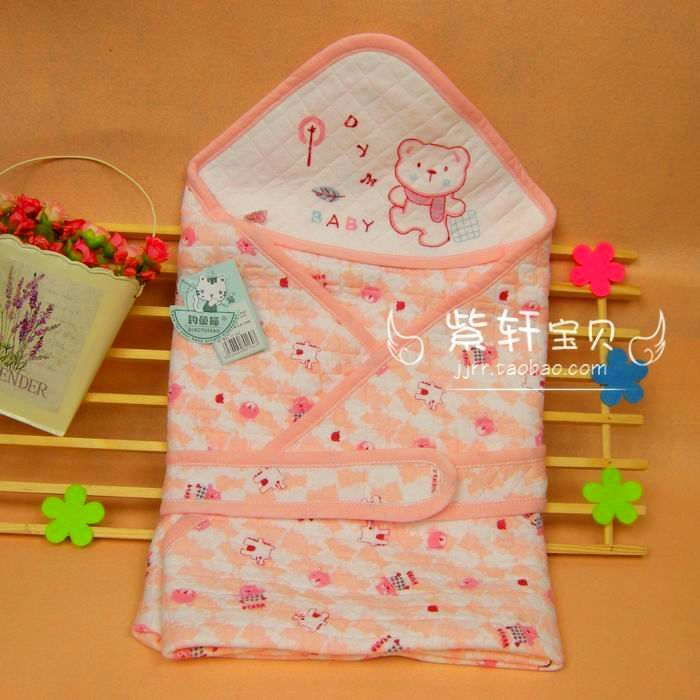 free shipping Newborn holds new born summer baby supplies baby bag blankets 100% cotton bag single(China (Mainland))