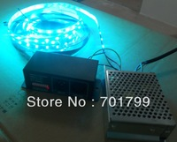 5m DC12V 48leds/m 16pixels led digital strip,non-waterproof + DMX to ws2811 convertor+60w power supply