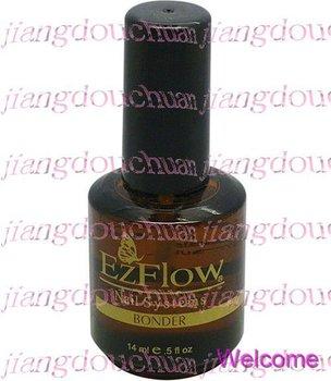 NEW EzFlow Nail system Bonder - 0.5oz  / 14ml - Gel UV Nail Primer + Mysterious GIFT