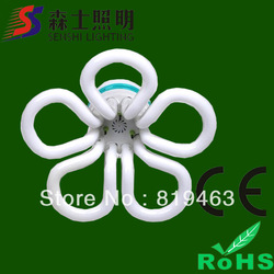 Beautiful shape flower energy saving lamps high efficient high power good quality lights 105-125w(China (Mainland))