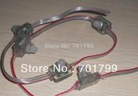 50pcs DC5V WS2811 LED pixel node,with transparent wire;size:L26mm*W18mm*H22mm