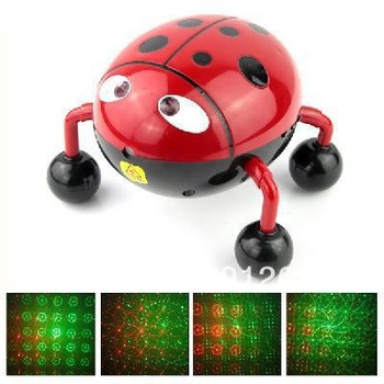 1 pcs/DJ Lighting Sound Activated Disco Music LED Stage Laser Light with USB Slot