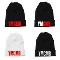 Hiphop knitted hat hiphop cap ymcmb knitted hat bboy hip-hop hat elastic pocket hat cap