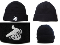 Hot crooks amp castles hiphop male female knitted hat knitted hat winter hat hiphopbboy