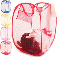 The colored storage barrels net-S7013 collapsible laundry basket storage basket