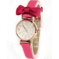 Mini table brief fashion vintage watch fashion lady bow ladies wristwatch best gift