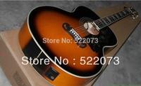 Wholesale SJ200 acoustic Dreadnought guitar Vintage Sunburst color + Fishman presys blend Pickups