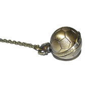 Minimum order 50$ : Vintage Football pocket watch / necklace/jewelry gft accessories M103-10
