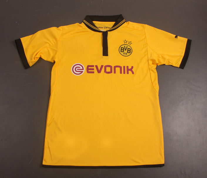 Original Brand & Tags 2012-2013 Top Thailand Quality Borussia Dortmund Home Yellow Football Soccer Jersey / Tops / T-Shirt(China (Mainland))