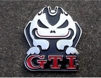 Volkswagen metal labeling volkswagen gti emblem discontinuing refit gti rabbit discontinuing
