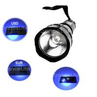 Free Shipping UltraFire WF-501B CREE UV LED 365nm LED Flashlight Powered by 1x18650