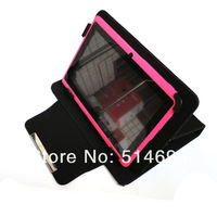 "Newest Magic Leather Case + Stylus For 7"" Freelander PD10 PD20 Yuandao Vido N70HD Novo7 Tablet free shipping"