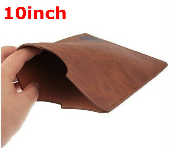 10pcs/lot Crazy selling Free Shipping 10 inch Universal Protective Leather Case Sleeve for Android Tablet PC MID whosale(China (Mainland))
