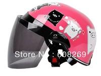 2013  Wholesale Children's motorcycle helmet / pink happiness pig baby helmet
