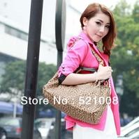 Fashion Leopard women shoulder bag Messenger bag - Free shipping
