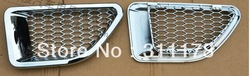 Free shipping! 2 pcs ABS Chrome side vent cover for Range Rover sport'2006-2008(China (Mainland))